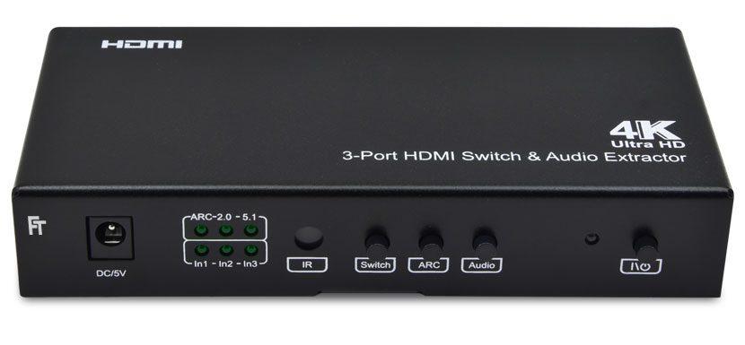 4K HDMI-Switch 3x1