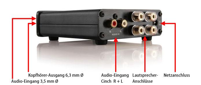AVS00100 Mini Digitalverstärker