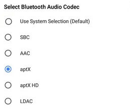 Android O Audio Selection