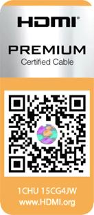Premium HDMI Cable Certification