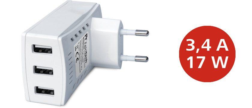 NLG00400 USB Schnell-Ladegerät