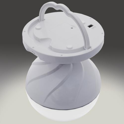 Portable Lampe mit Tragegriff