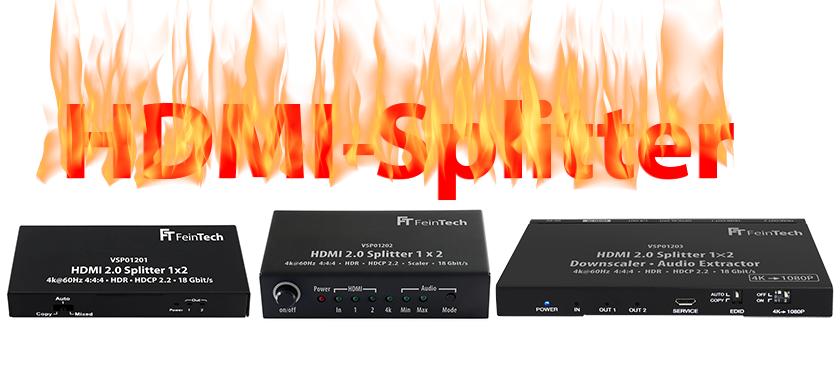 HDMI-splitter 4K HDR