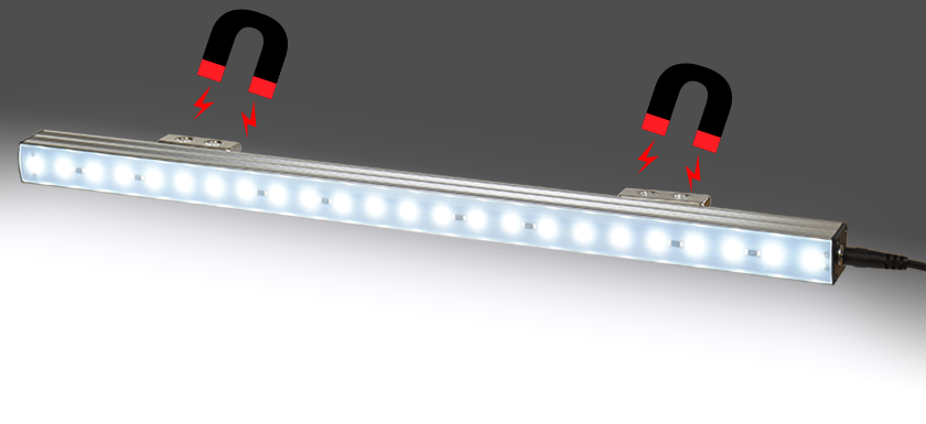 "LED Lamp 19"" Rack"