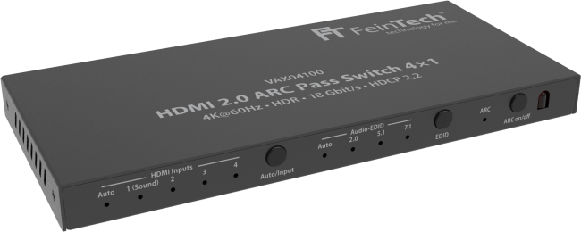 HDMI Switch mit ARC Passthrough