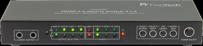 VMS02400 HDMI Switch 2x4